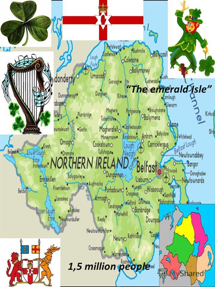 1,5 million people The emerald Isle