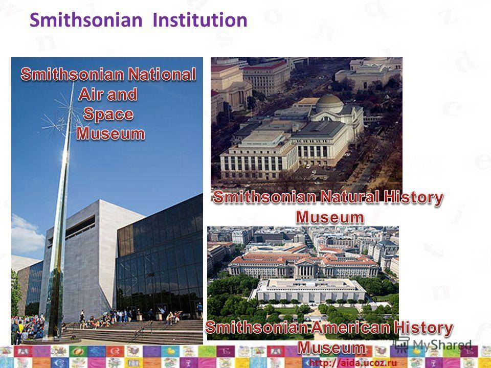 Smithsonian Institution 18.02.20149