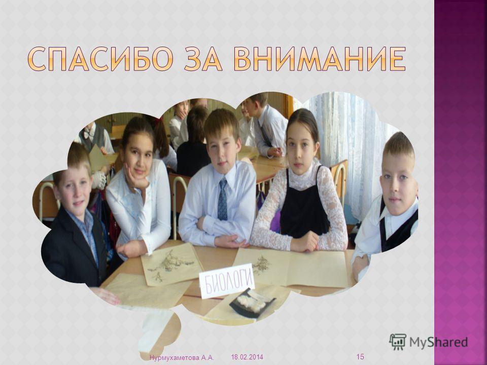 18.02.2014 Нурмухаметова А.А. 15
