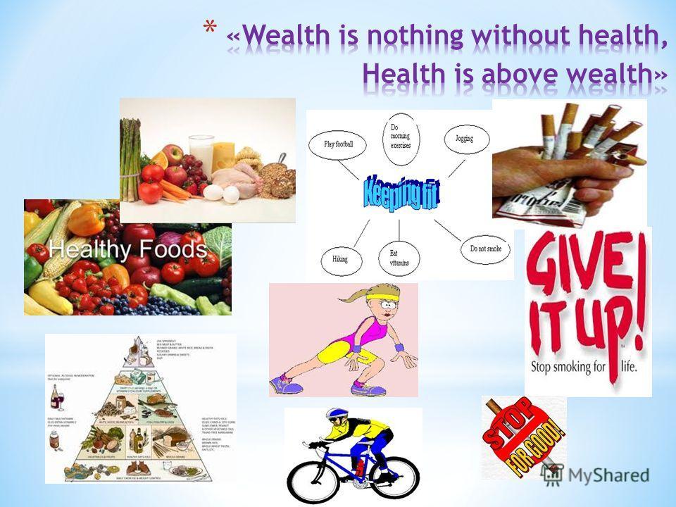 Health vs wealth essays
