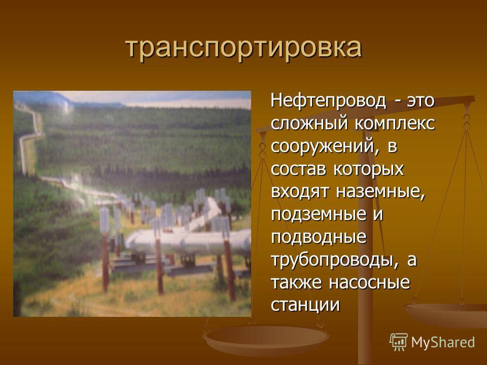 Основные месторождения нефти