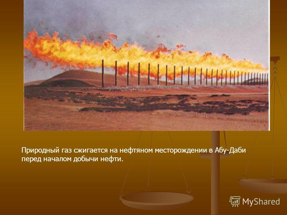 Пожары на нефтяных скважинах Кувейта в 1991 г. привели к образованию плотной дымовой завесы над всей страной. До сих пор точно не установлен ущерб, нанесенный окружающей среде в результате этого акта вандализма.