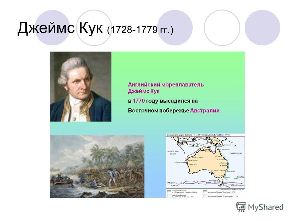 Джеймс Кук (1728-1779 гг.)