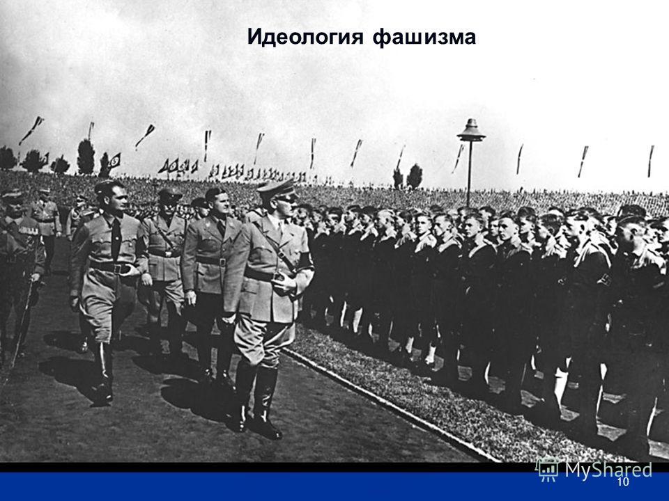 10 Идеология фашизма