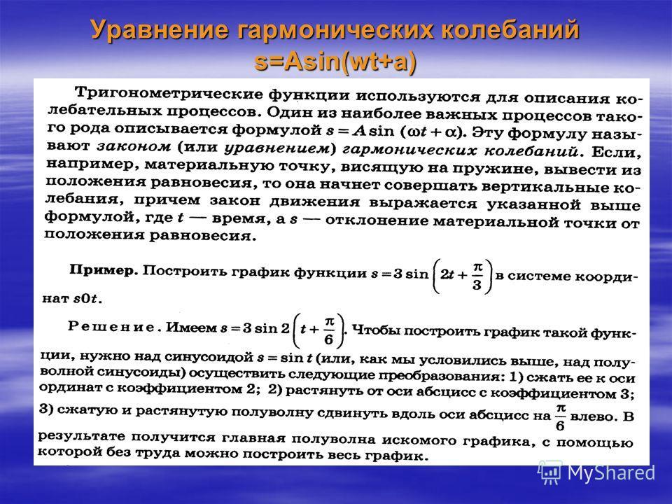 Правило2. Как построить график функции y= f(kx) если известен график функции y= f(x).