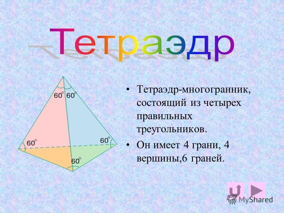 Правильных многогранников вызывающе мало… Л.Кэролл Выпуклый многогранник называется правильным, если все его грани- равные правильные многоугольники,и в каждой его вершине сходится одинаковое количество ребер.