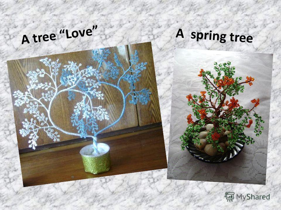 A tree Love A spring tree