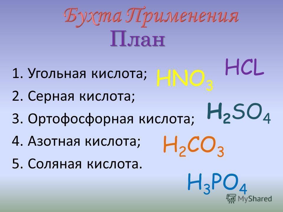 Запомни! Кислоты, полученные в лаборатории и кислоты в продуктах питания проявляют общие химические свойства!