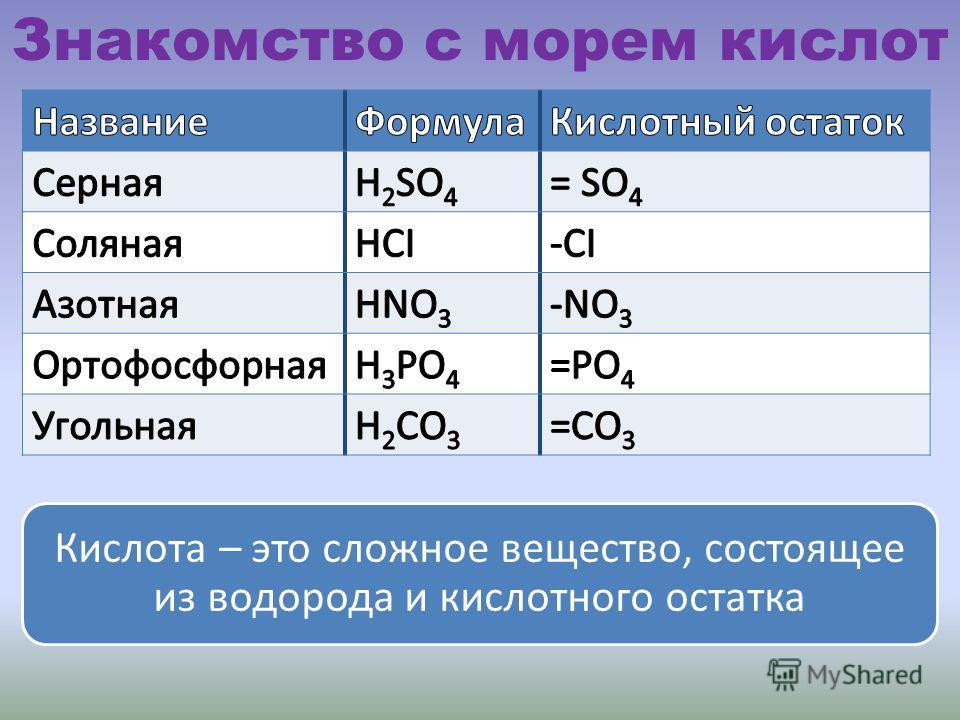 Залив ИнформационныйПлан 1.Знакомство с морем кислот; 2.Разнообразие кислот; 3.Получение кислот.