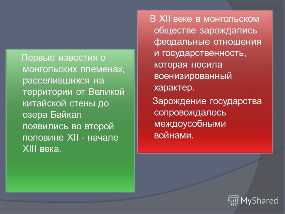 Презентация 6 класс по истории монголия