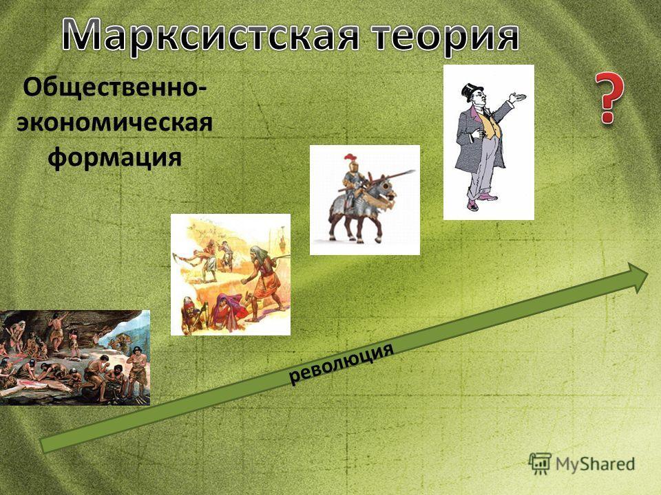 Общественно- экономическая формация революция