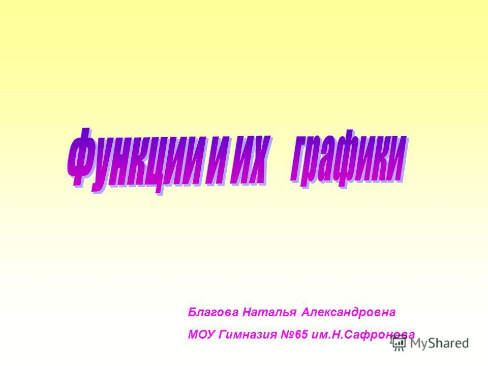 Благова Наталья Александровна МОУ Гимназия 65 им.Н.Сафронова