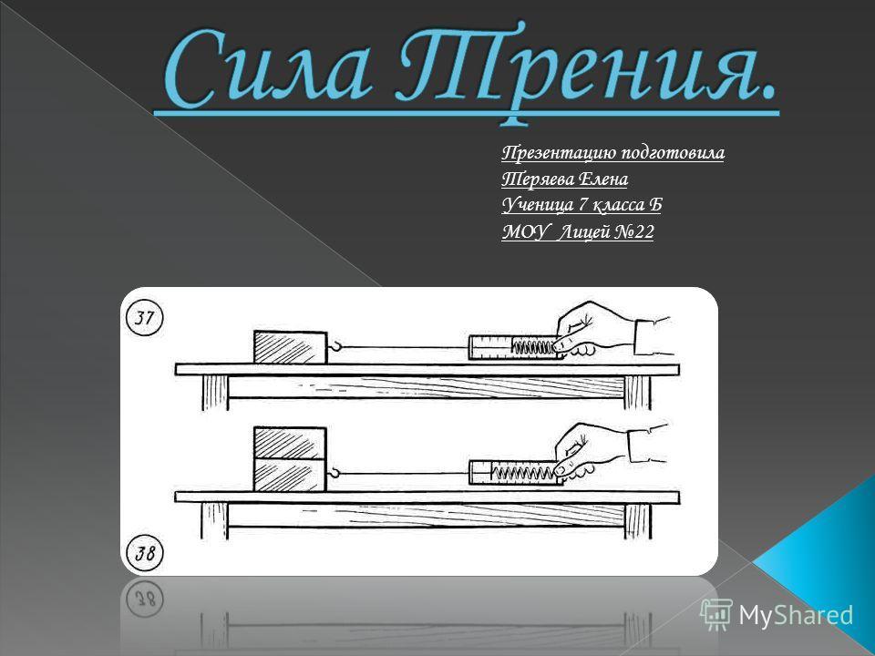 Презентацию подготовила Теряева Елена Ученица 7 класса Б МОУ Лицей 22