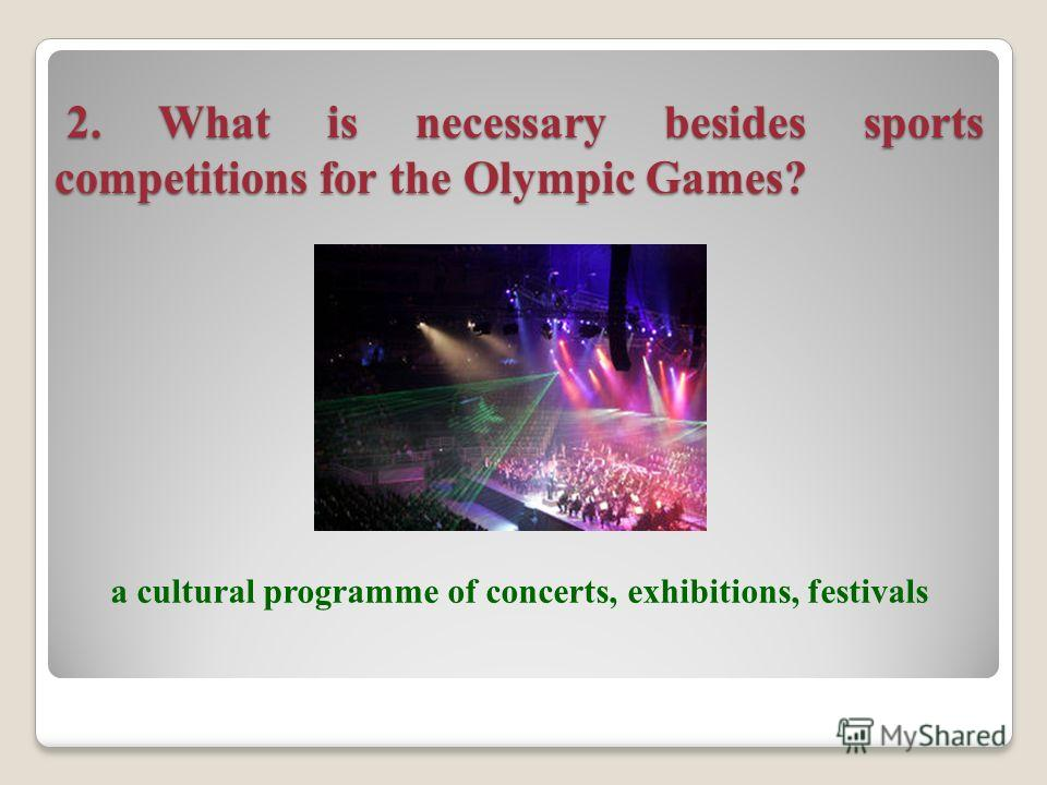 1. What is the central policy-making body of the Olympic movement? The International Olympic Comitee