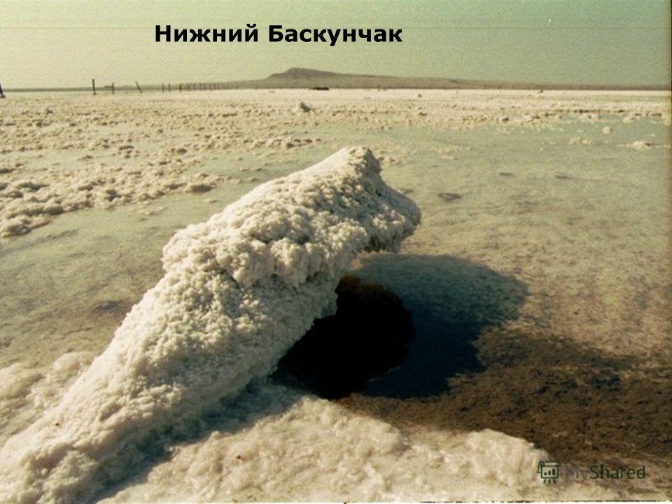 Нижний Баскунчак