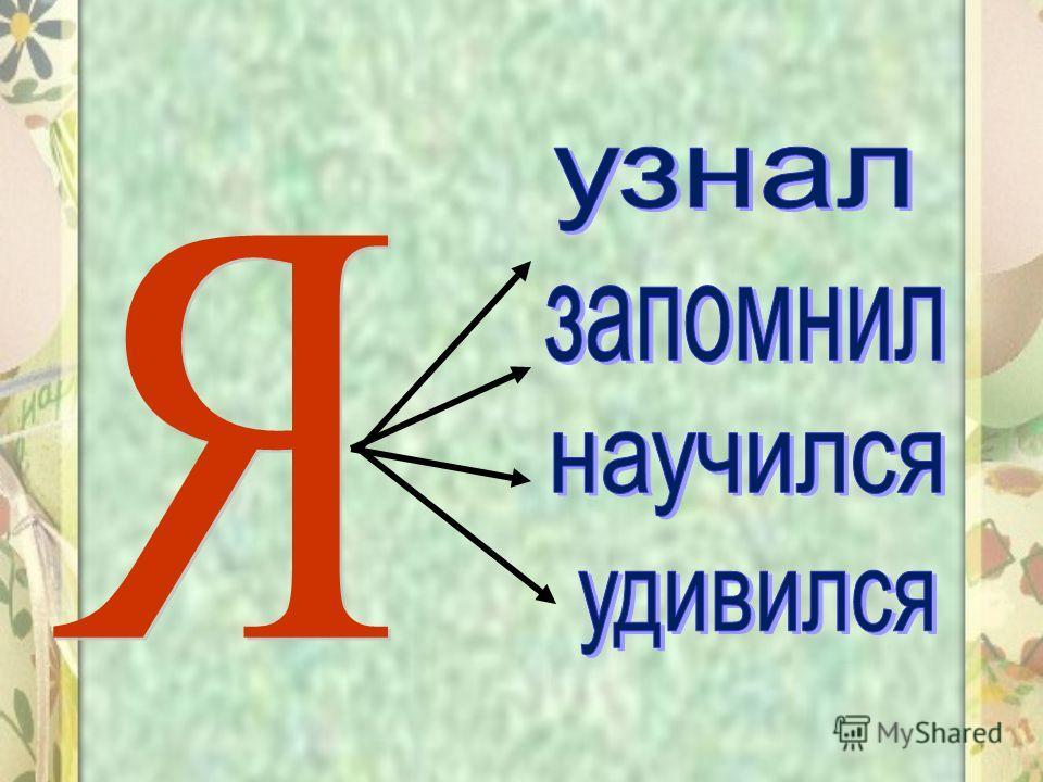 Запомни! Согласный звук [Й] обозначается согласной буквой Й ( и краткое) Й