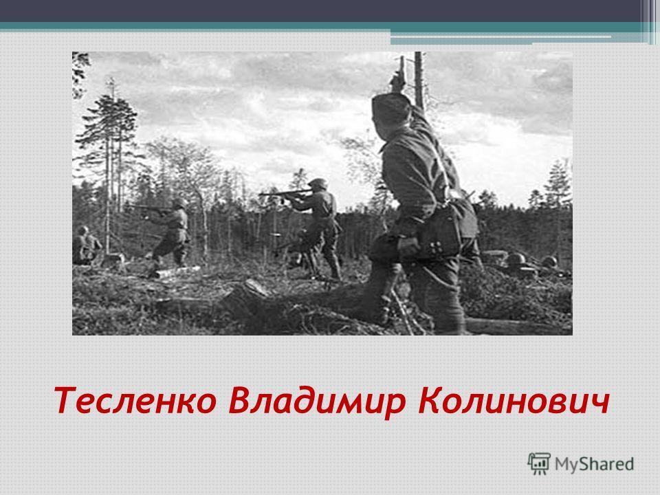 Тесленко Владимир Колинович