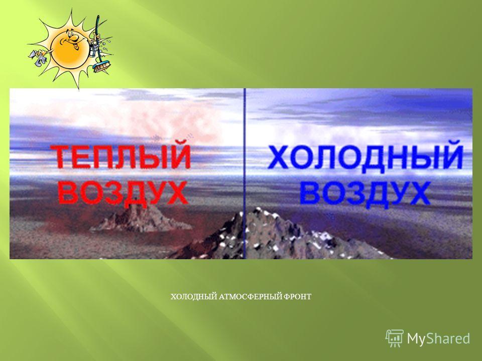 АТМОСФЕРНЫЕ ФРОНТЫ