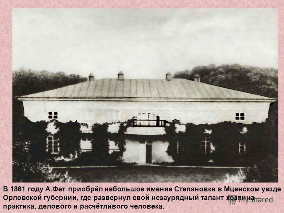 Афанасий Афанасьевич и Мария Петровна Фет. Фото Ф.Мебиуса. Москва. Начало 1860-х гг.