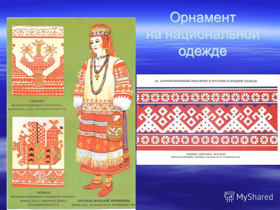 Орнамент на национальной одежде