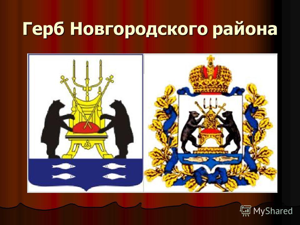 Герб Новгородского района