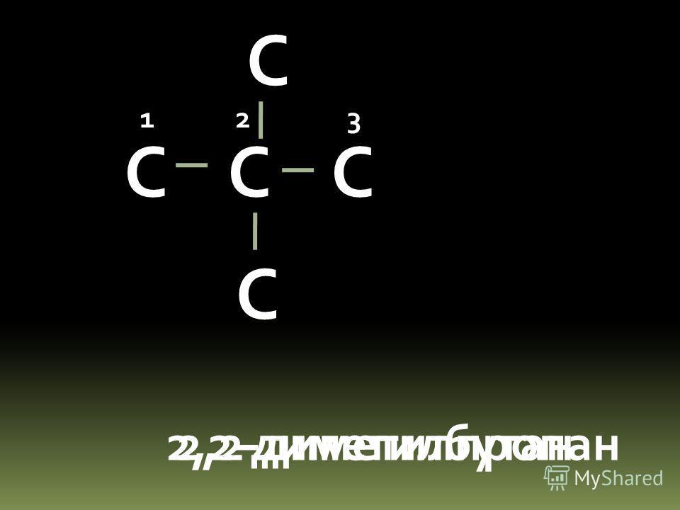 С С С 2-метилбутан 123 4