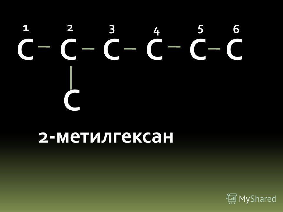 С С С 123 4 С 2,3-диметилбутан 123 4 С