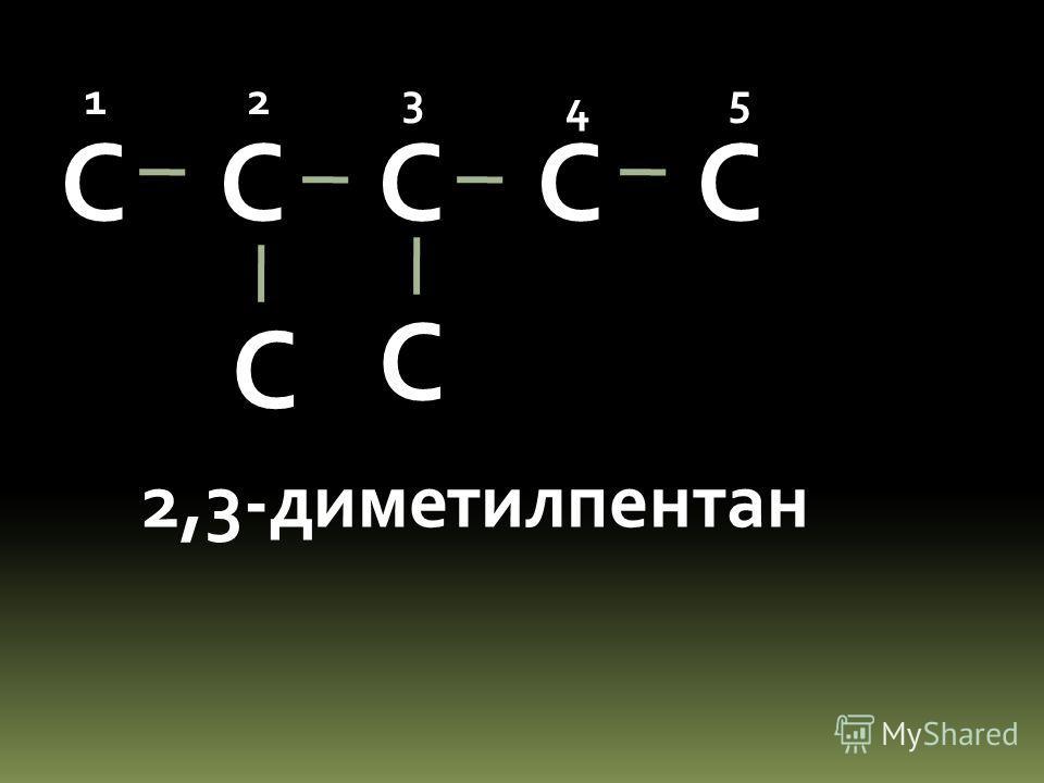 С С С С 3-метилгексан 123 4 5 6