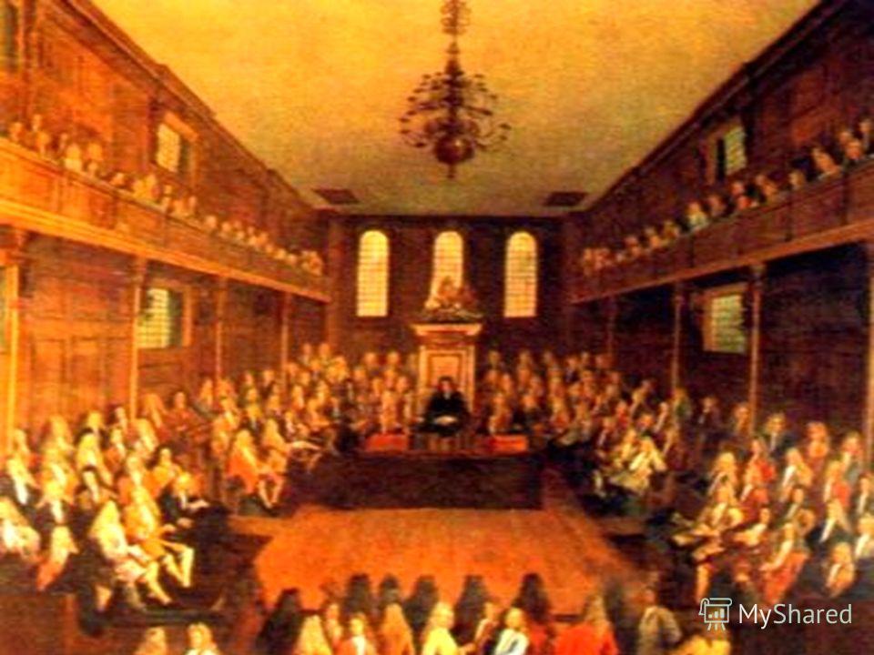 Игра «Заседание парламента» « Нужна ли была Англии революция и была ли возможность её избежать?»