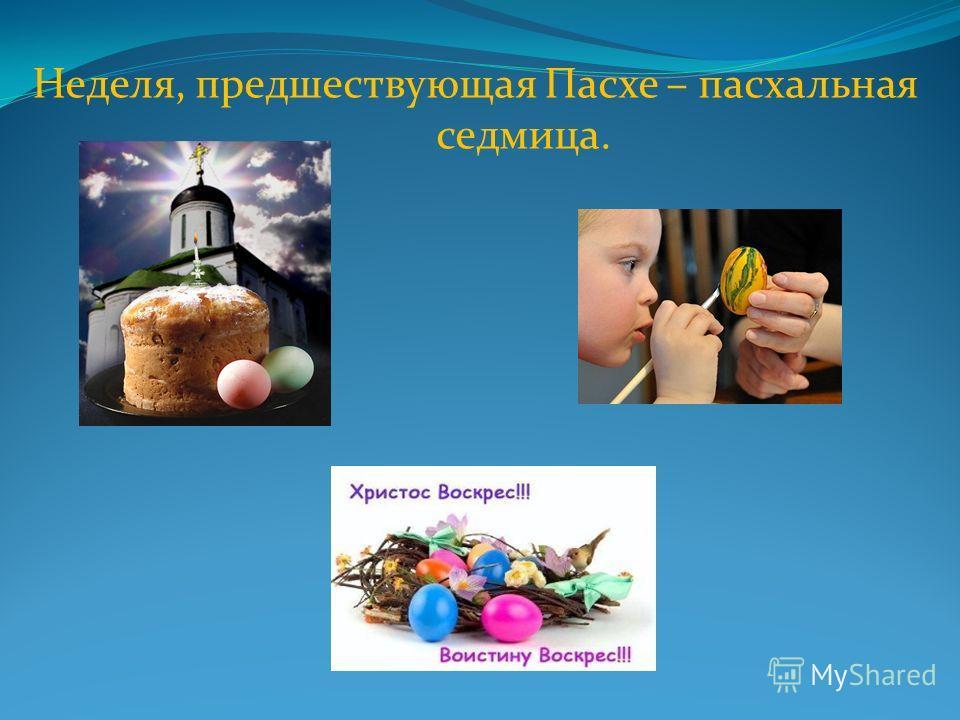 Православная Пасха Вот просыпается земля И одеваются поля, Весна идёт, полна чудес. Христос Воскрес! Христос Воскрес! «А. Майков»