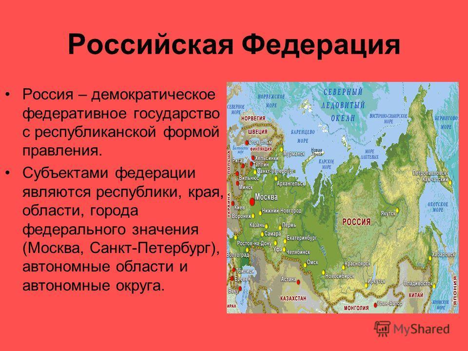 Презентация powerpoint на тему я гражданин российской федерации