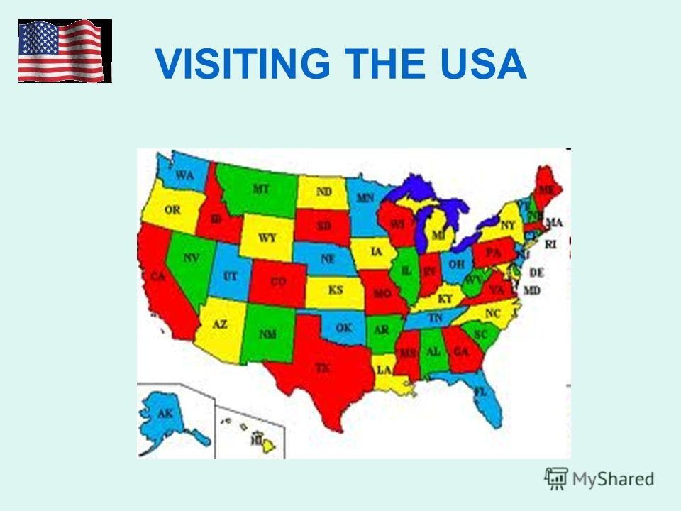 VISITING THE USA