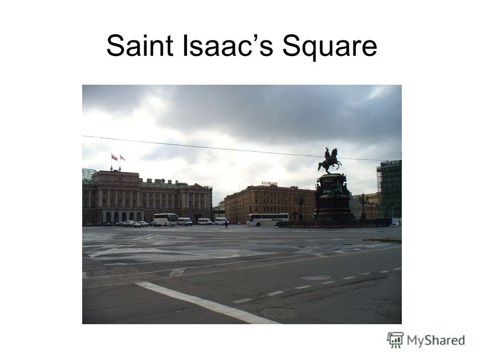 Saint Isaacs Square