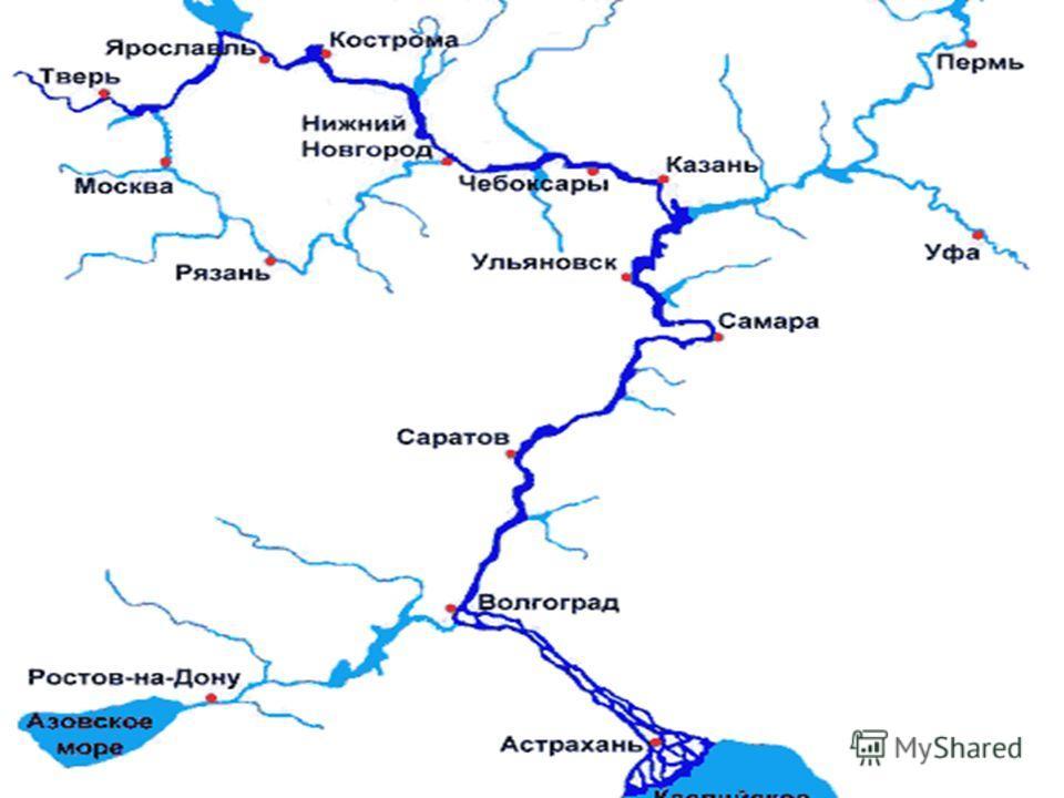 Река Волга делит область на две почти равные части. Саратовская область занимает территорию размером 100,2 тыс. км 2, в том числе в Правобережье – 46 тыс. км 2, в Левобережье – 54,2 тыс. км 2. Наибольшая протяженность области с запада на восток – 575