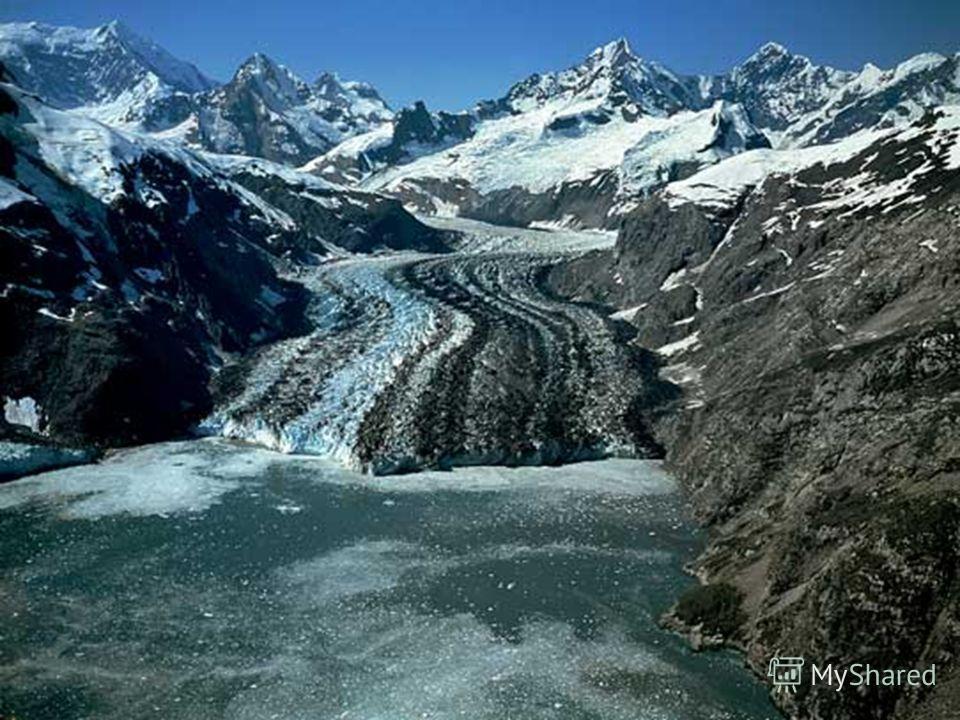 Горные ледники делятся на : ГорныеГорные СклонныеСклонные ДолинныеДолинные