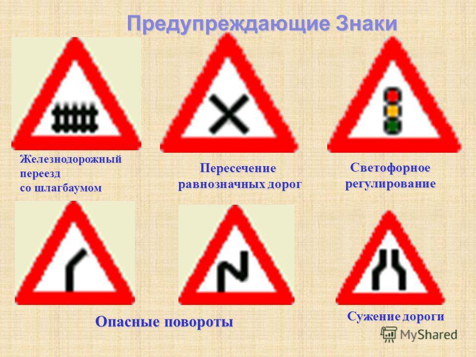 Поворот направо запрещенПоворот налево запрещенРазворот запрещен Ограничение максимальной скорости Остановка запрещена Стоянка запрещена
