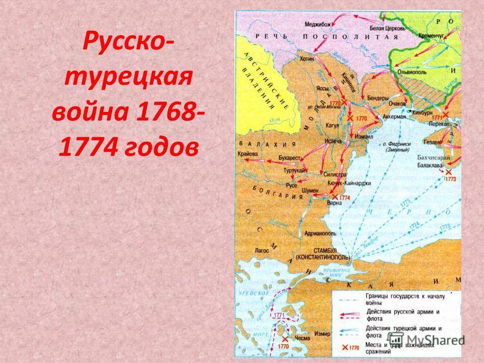 Русско- турецкая война 1768- 1774 годов