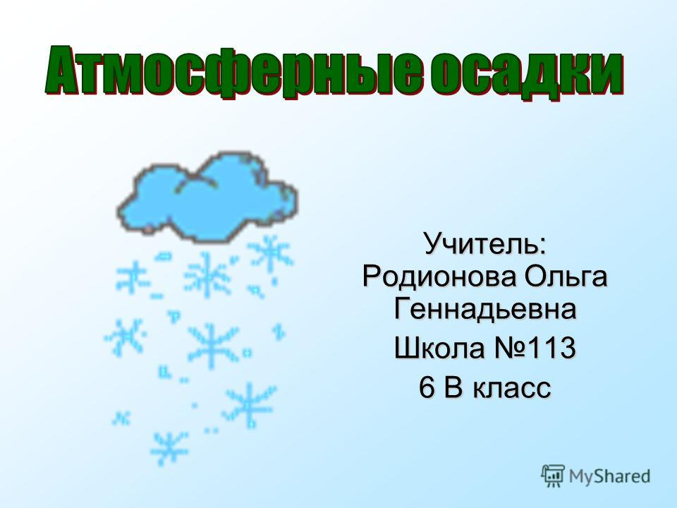 Учитель: Родионова Ольга Геннадьевна Школа 113 6 В класс
