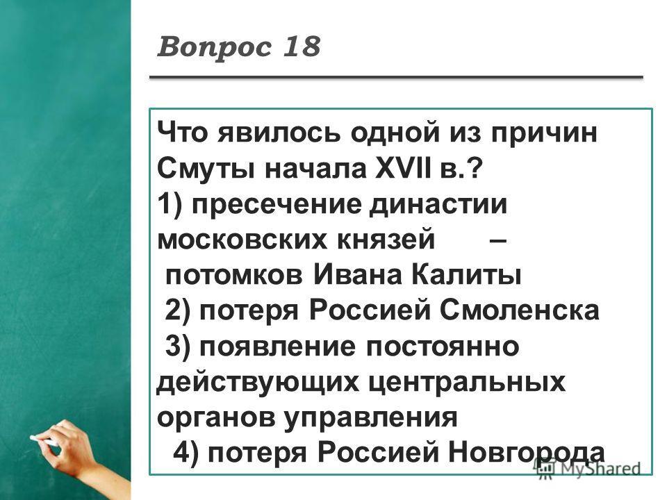 династии московских князей
