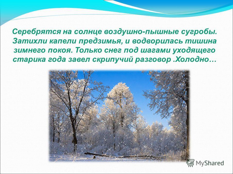 Иллюстрированное сочинение «Путешествие в зиму» выполнил ученик 6-Б класса Карпенко Данил