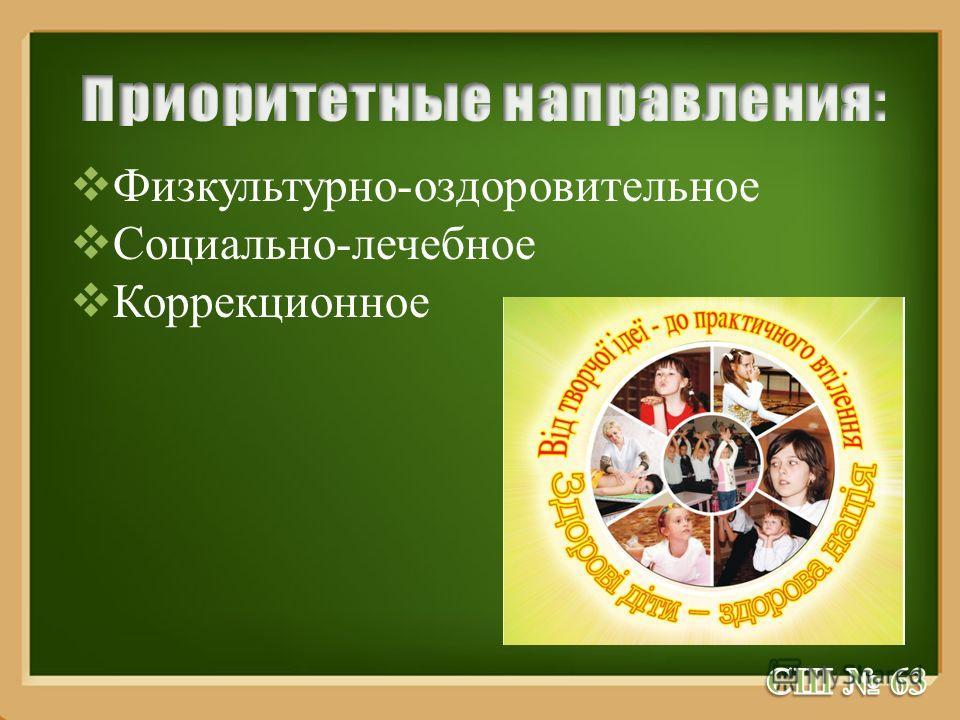 ProPowerPoint.Ru Физкультурно-оздоровительное Социально-лечебное Коррекционное
