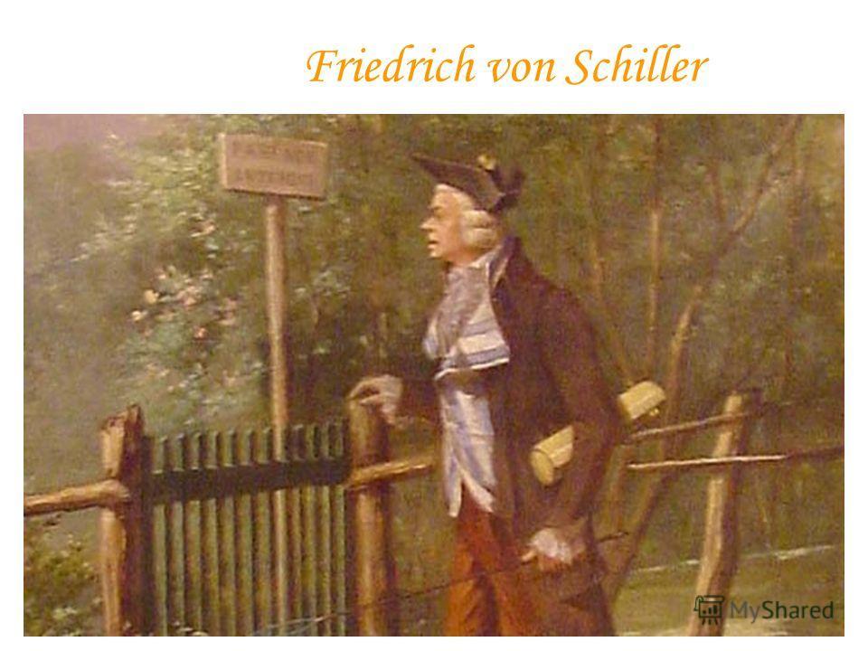 F riedrich von Schiller