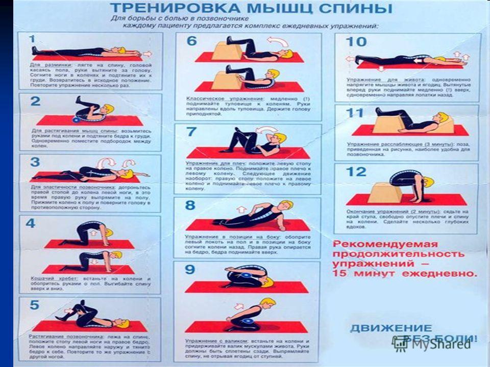 Разминка мышц груди и спины Подъем рук вперед Основная стойка. Соедините кисти перед собой. Глубоко вдохните, поднимая руки над головой, и сделайте выдох, возвращаясь в исходное положение. Подъем рук назад Основная стойка. Соедините кисти внизу за сп
