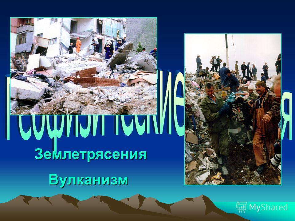 Вулканизм Землетрясения
