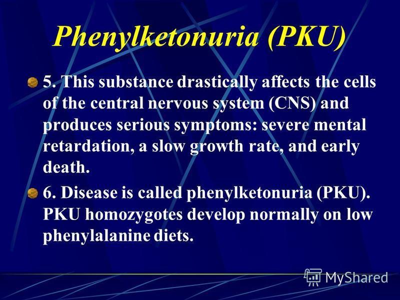 Phenylketonuria Symptoms Презент�...