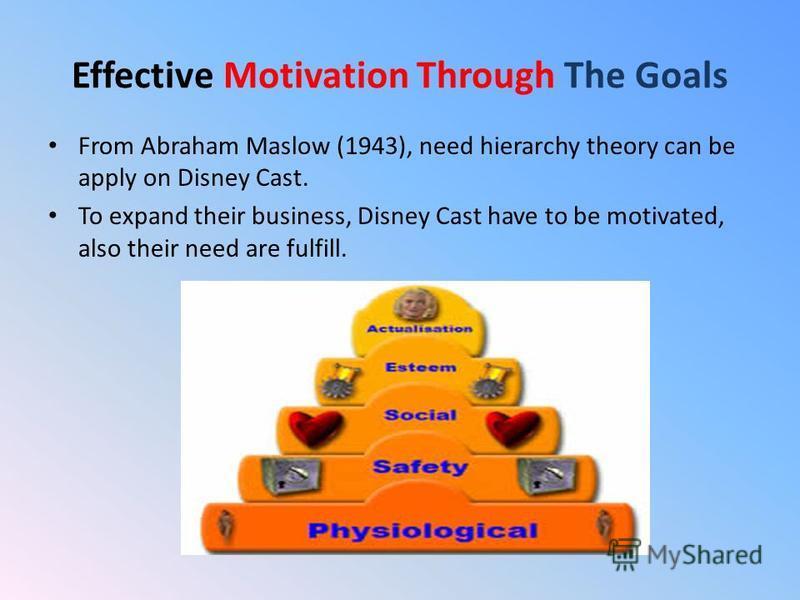 walt disney organisation theory