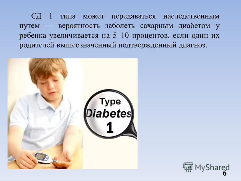 Диабет передается по наследству это