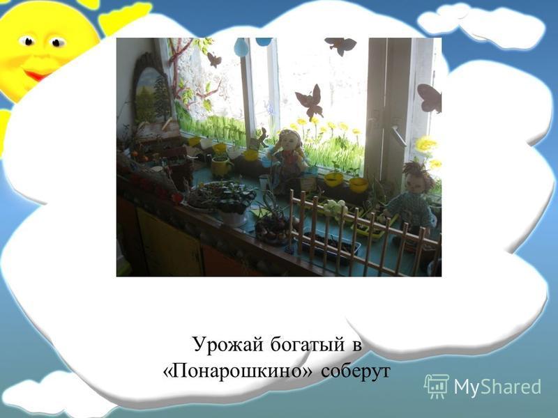 Урожай богатый в «Понарошкино» соберут