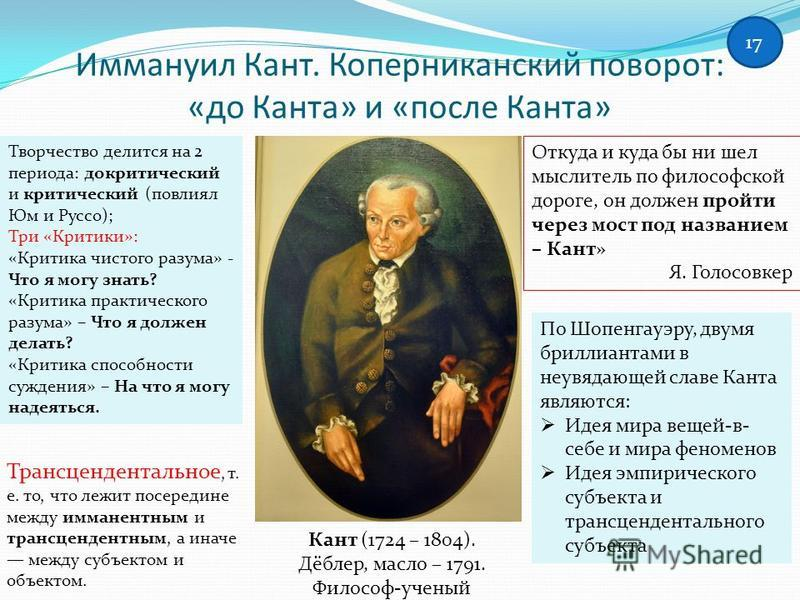 a biography of kant