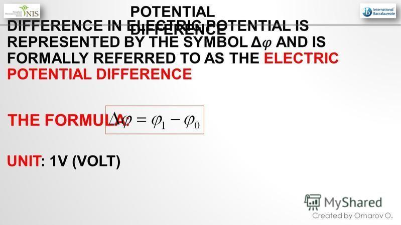 Electric Current Emf Electromotive Force